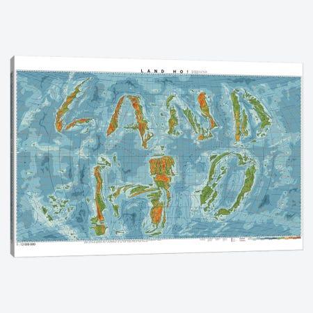 Land Ho Canvas Print #DDW12} by DAU-DAW Canvas Artwork