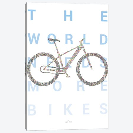 Mountain Bike Canvas Print #DDW16} by DAU-DAW Canvas Print