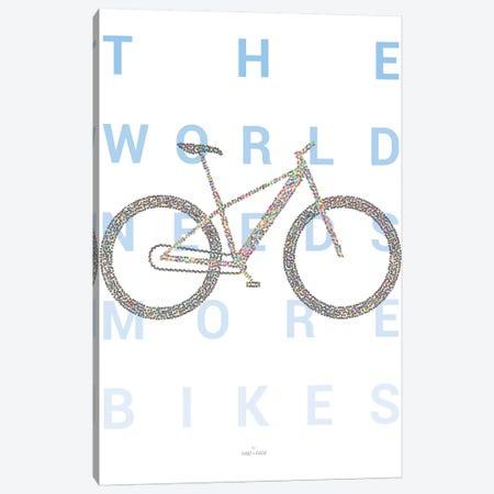 Mountain Bike Canvas Print #DDW16} by DAU-DAW Canvas Print