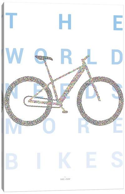 Mountain Bike Canvas Art Print