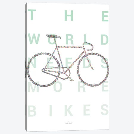 Road Bike Canvas Print #DDW27} by DAU-DAW Canvas Wall Art