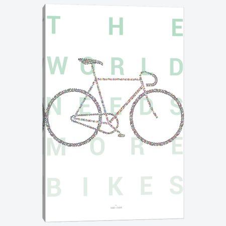 Road Bike Canvas Print #DDW27} by DAU-DAW Canvas Wall Art