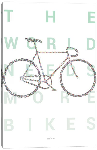 Road Bike Canvas Art Print