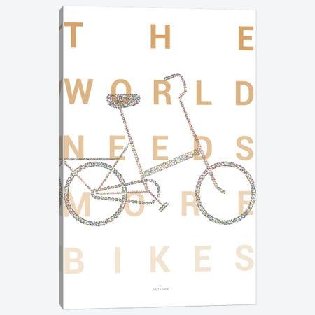 Vintage Foldable Bike Canvas Print #DDW36} by DAU-DAW Canvas Print