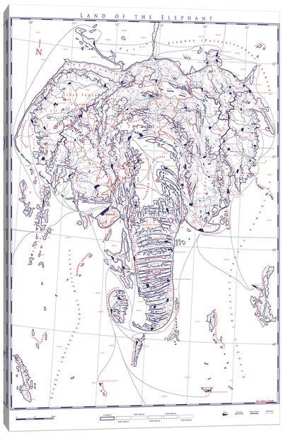 Elephant II Canvas Art Print