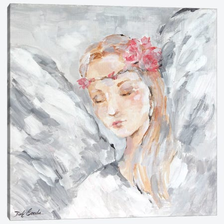 Angel I Canvas Print #DEB104} by Debi Coules Canvas Art