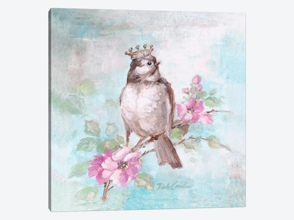 French Crown & Feathers II by Debi Coules 1-piece Art Print