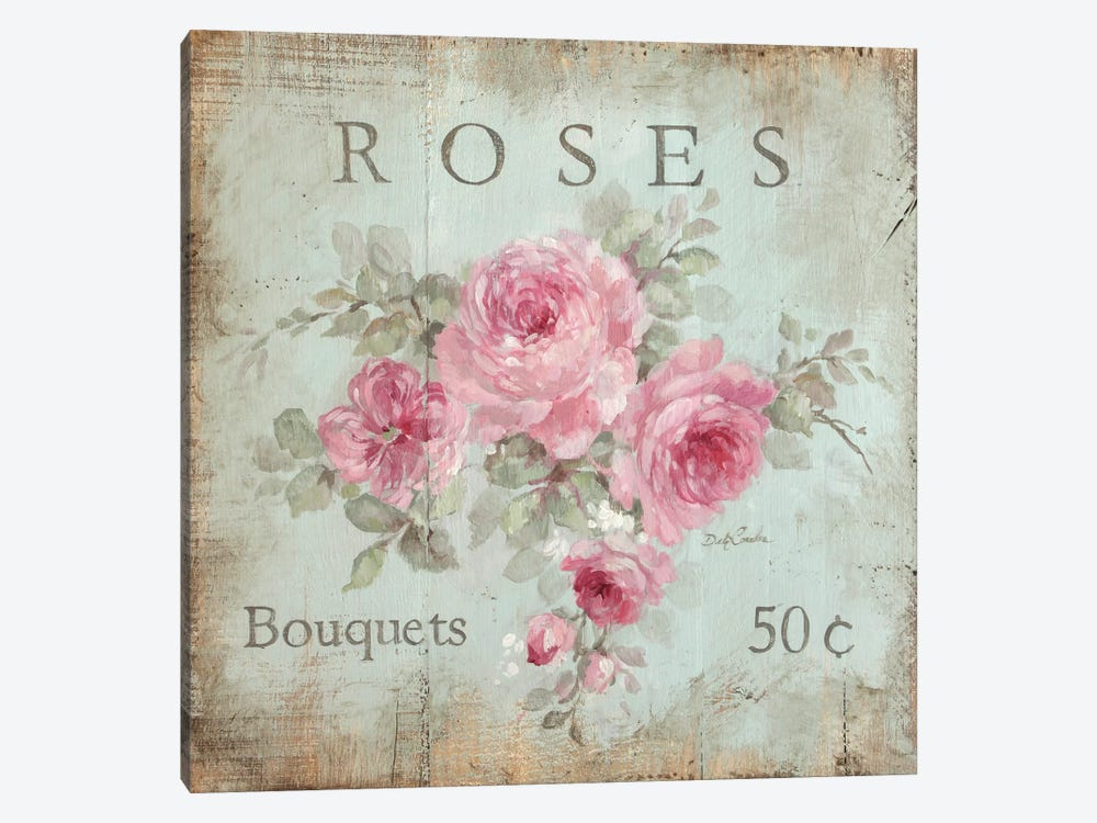 Rose Bouquets (50 Cents) by Debi Coules 1-piece Canvas Art