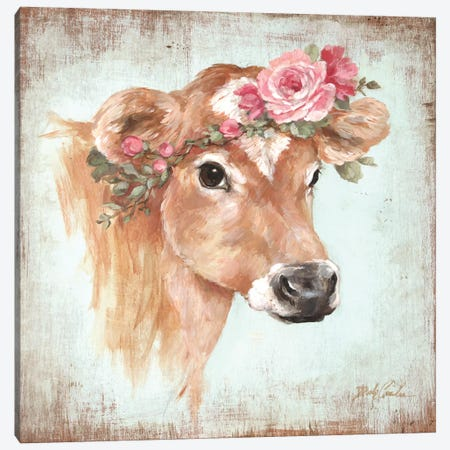 Rosie Canvas Print #DEB112} by Debi Coules Canvas Art