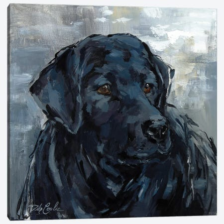 Loyal Lab Canvas Print #DEB118} by Debi Coules Canvas Art