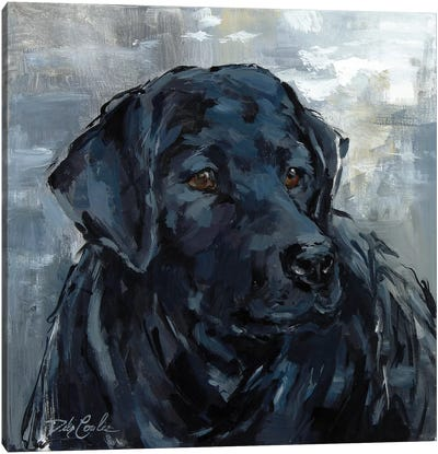 Loyal Lab Canvas Art Print