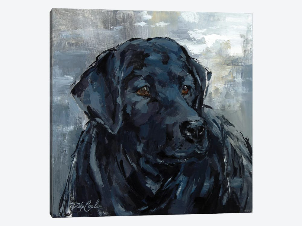 Loyal Lab by Debi Coules 1-piece Canvas Print