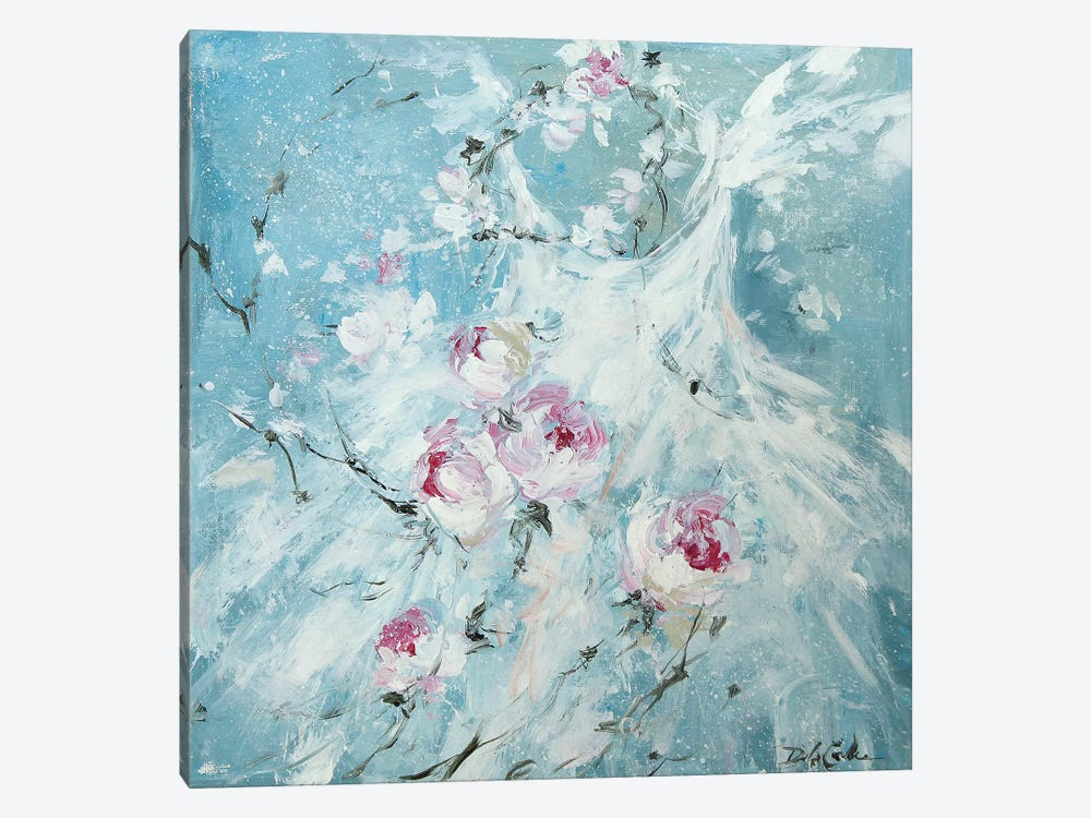 Petal Pirouette II by Debi Coules 1-piece Canvas Wall Art