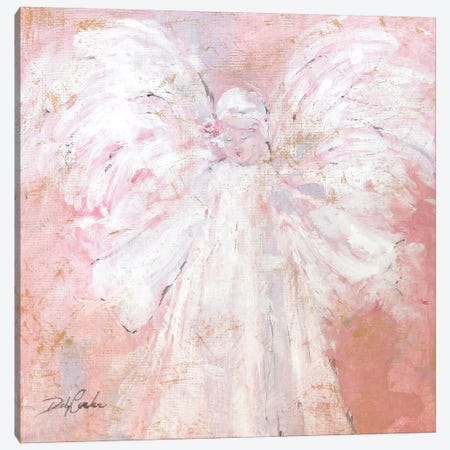 Under My Wings Canvas Print #DEB122} by Debi Coules Canvas Art Print