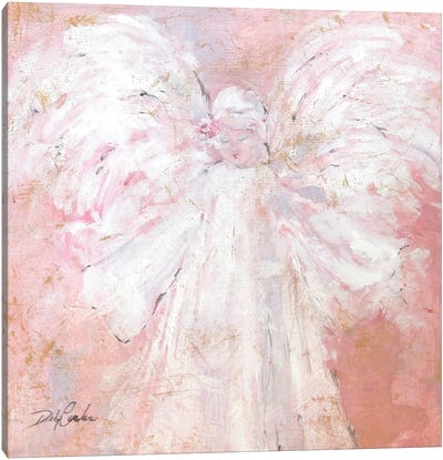 Under My Wings Canvas Art Print
