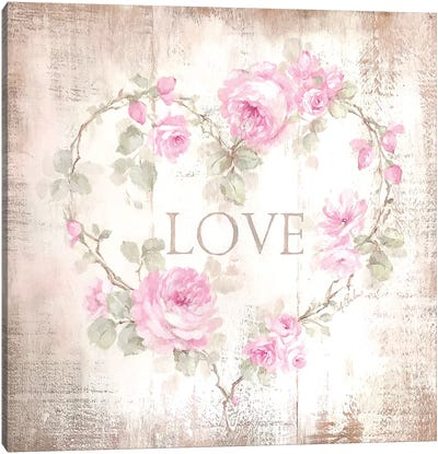 Love Sign Canvas Art Print