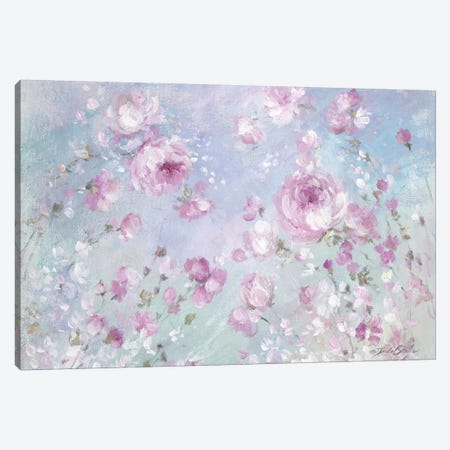 Blooming Roses Canvas Print #DEB126} by Debi Coules Canvas Art