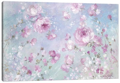 Blooming Roses Canvas Art Print