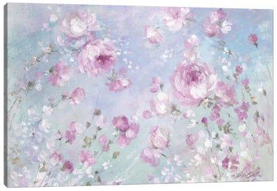 Blooming Roses Canvas Art Print