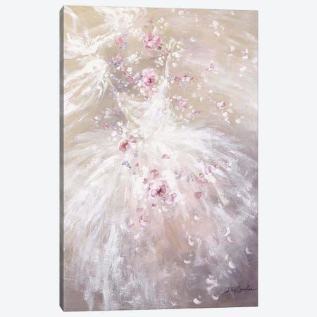 Rose Dance II Canvas Print #DEB130} by Debi Coules Canvas Artwork