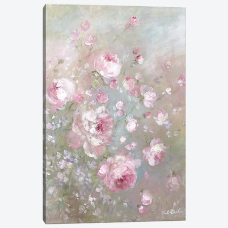 Summer's Roses Canvas Print #DEB131} by Debi Coules Canvas Wall Art