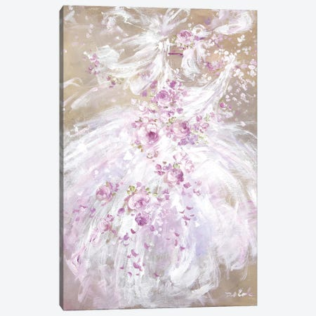 Tutu Spring Canvas Print #DEB134} by Debi Coules Art Print