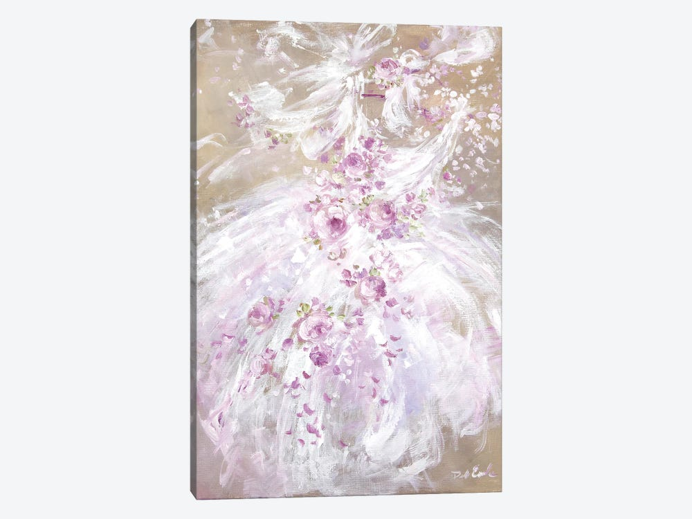 Tutu Spring by Debi Coules 1-piece Canvas Art Print