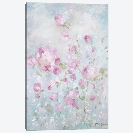 Whispering Roses Canvas Print #DEB137} by Debi Coules Art Print