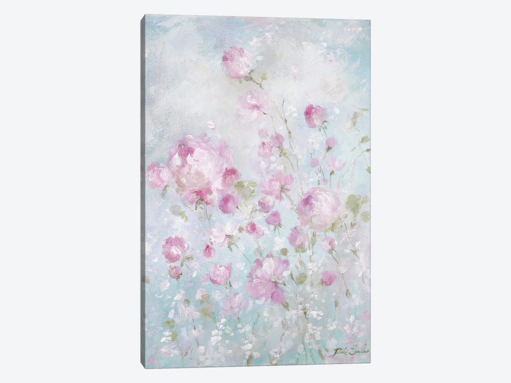 Whispering Roses by Debi Coules 1-piece Canvas Art
