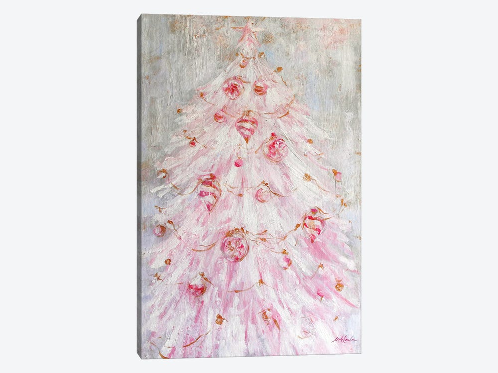 A Pink Christmas by Debi Coules 1-piece Art Print