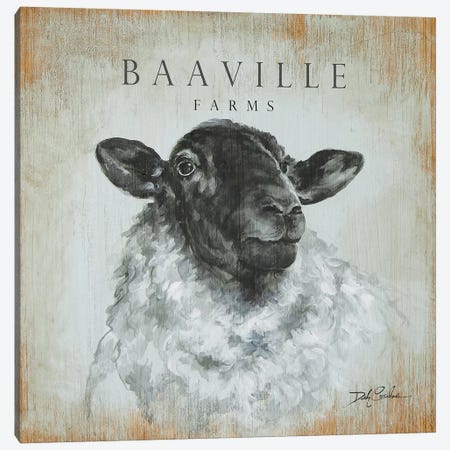 BaaVille Farms Canvas Print #DEB143} by Debi Coules Canvas Art Print