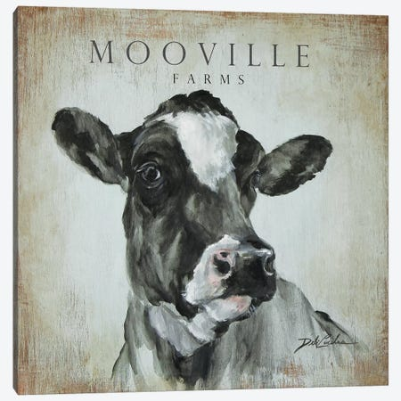MooVille Farms Canvas Print #DEB144} by Debi Coules Canvas Art