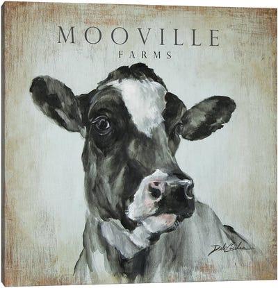 MooVille Farms Canvas Art Print
