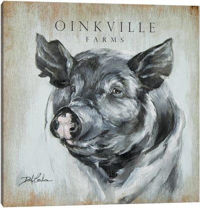 OinkVille Farms Canvas Art Print