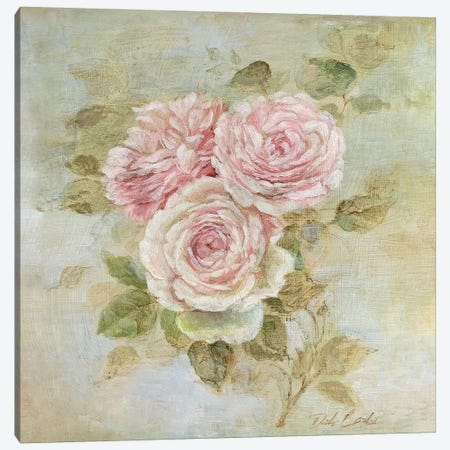 Three Roses Canvas Print #DEB147} by Debi Coules Canvas Artwork