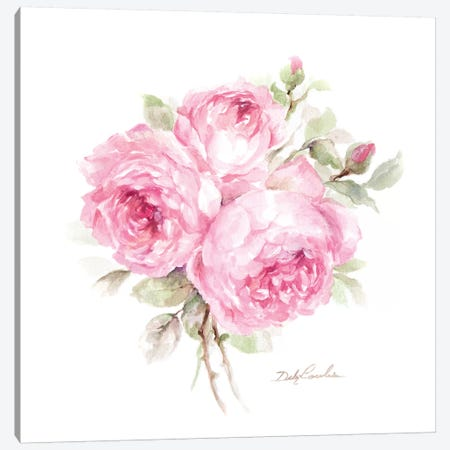 English Roses Canvas Print #DEB148} by Debi Coules Canvas Art Print