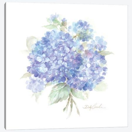 Hydrangeas I Canvas Print #DEB149} by Debi Coules Art Print