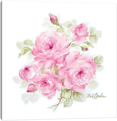 Romantic Roses Canvas Art Print