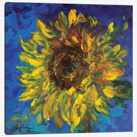 Sunflower II Canvas Print #DEB156} by Debi Coules Art Print