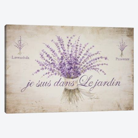French Lavender Canvas Print #DEB160} by Debi Coules Canvas Art Print