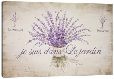 French Lavender Canvas Art Print