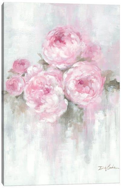 Pink Peonies Canvas Art Print