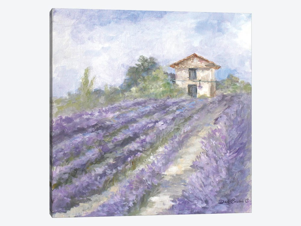Lavender Fields by Debi Coules 1-piece Canvas Print