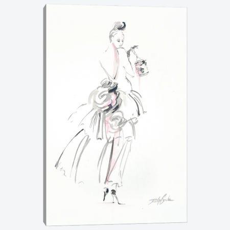 A Floral Affair Canvas Print #DEB174} by Debi Coules Canvas Print