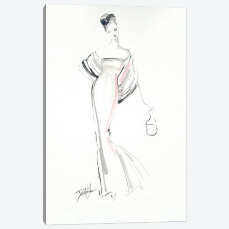 Exquisite Lines Canvas Print #DEB175} by Debi Coules Canvas Print