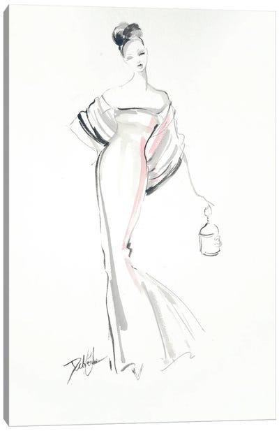 Exquisite Lines Canvas Art Print