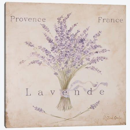 Lavende Panel Canvas Print #DEB20} by Debi Coules Art Print