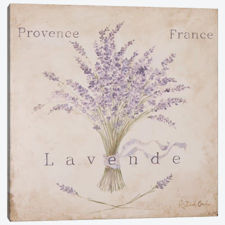 Lavende Panel Canvas Print #DEB20} by Debi Coules Art Print