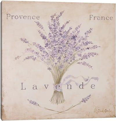 Lavende Panel Canvas Print #DEB20