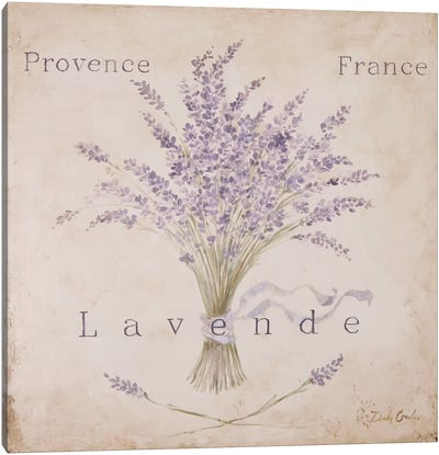 Lavende Panel Canvas Art Print
